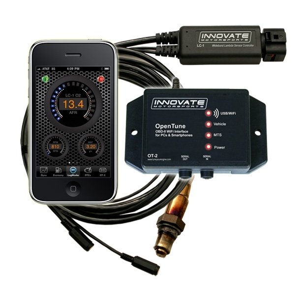 Innovate OT-2 / LC-1 Kit: OBD-II & Wideband AFR WiFi Interface - P/N: 3832 - #3832