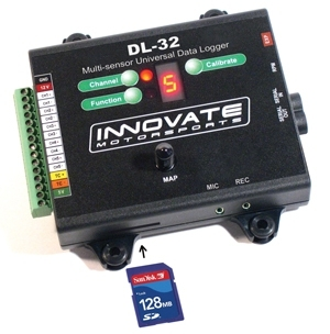 Innovate DL-32 Integrated Data Acquisition