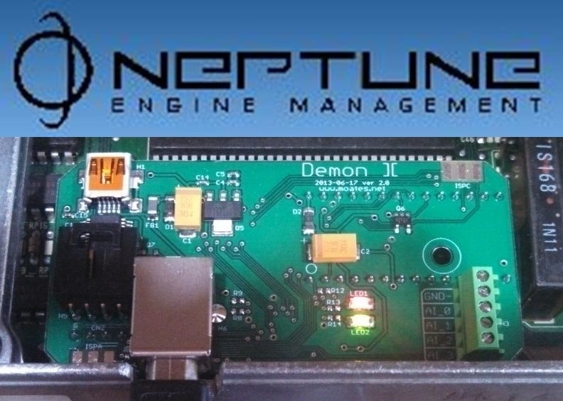 """Neptune/Demon RTP Hardware/Software Combo"" - backordered 'til 5/6/19"